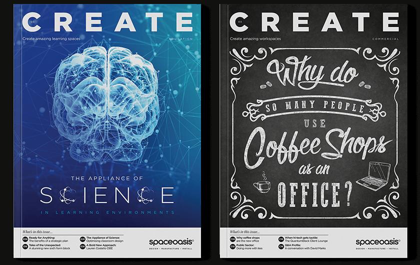 CREATE Magazine Design